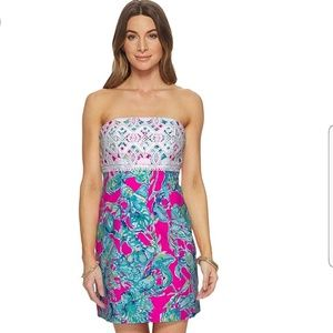 Lilly Pulitzer Brynn Lobsters in Love Size 00 NWT